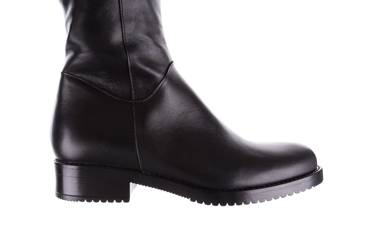 Kozaki bayla-056 4086-08 czarny, skóra naturalna - kozaki - buty damskie - kobieta 15