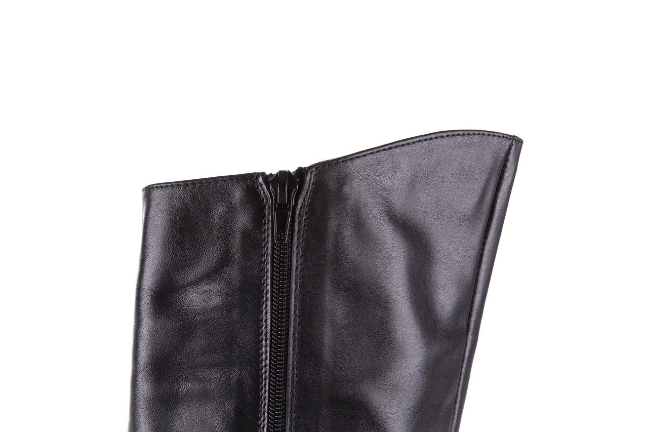 Kozaki bayla-056 4086-08 czarny, skóra naturalna - kozaki - buty damskie - kobieta 13
