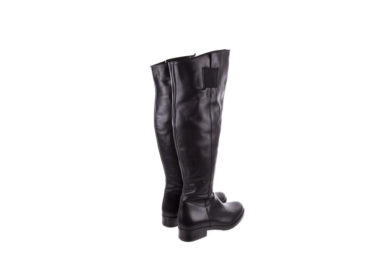 Kozaki bayla-056 4086-08 czarny, skóra naturalna - kozaki - buty damskie - kobieta 11