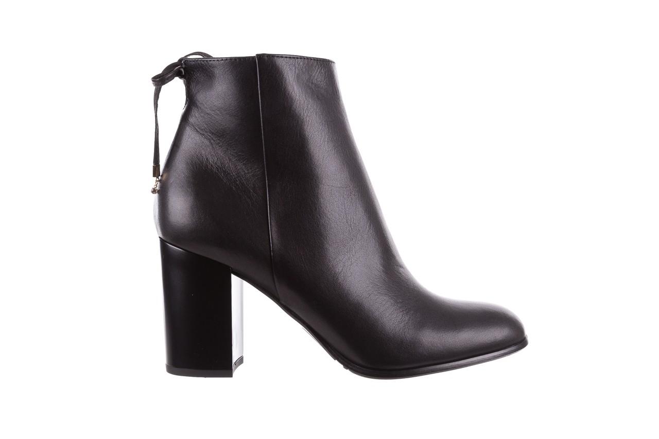 Botki bayla-056 9086-08 czarne, skóra naturalna - skórzane - botki - buty damskie - kobieta 8