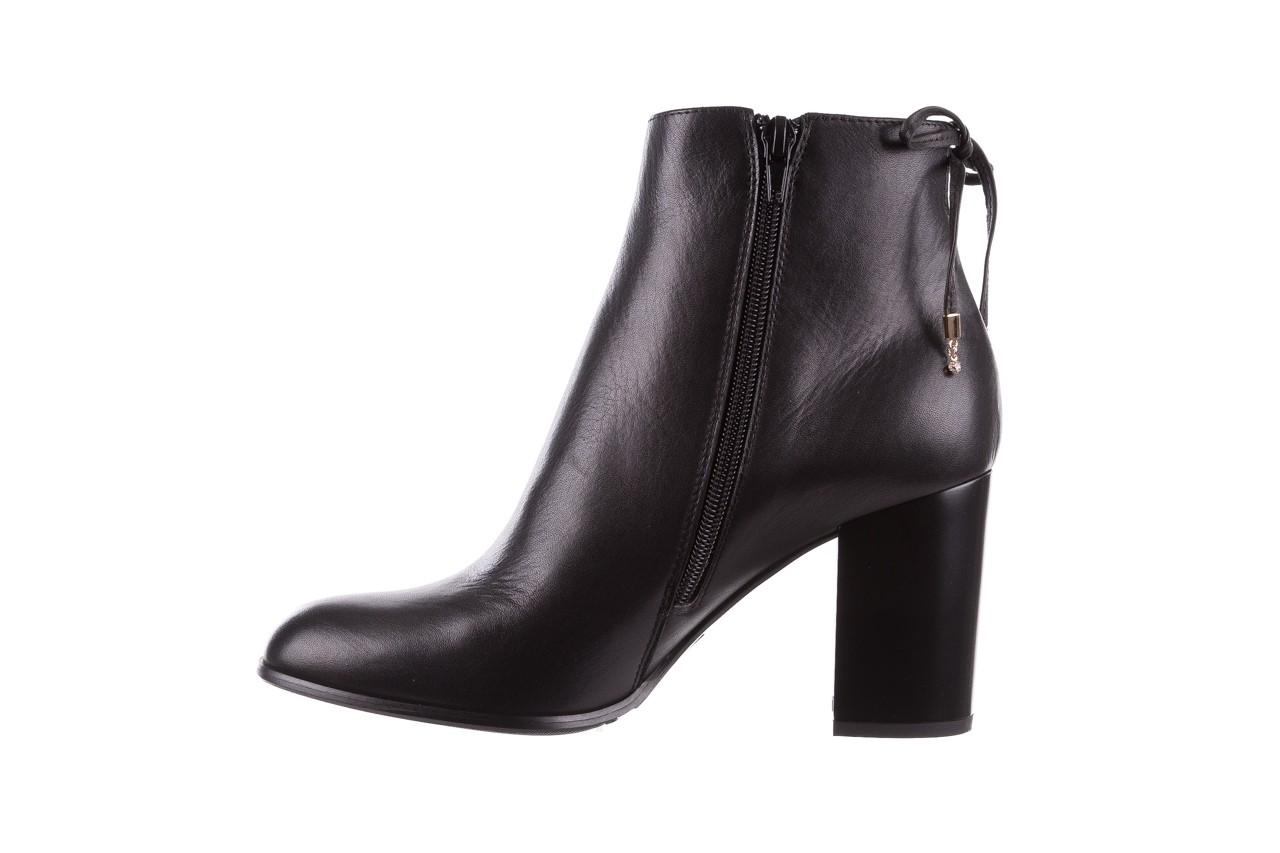 Botki bayla-056 9086-08 czarne, skóra naturalna - skórzane - botki - buty damskie - kobieta 10