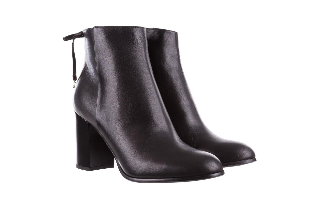 Botki bayla-056 9086-08 czarne, skóra naturalna - skórzane - botki - buty damskie - kobieta 9