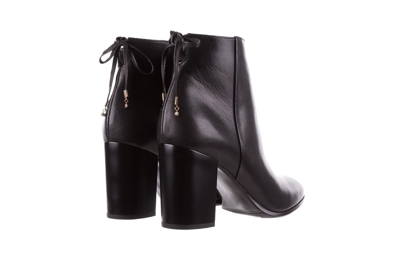 Botki bayla-056 9086-08 czarne, skóra naturalna - skórzane - botki - buty damskie - kobieta 11