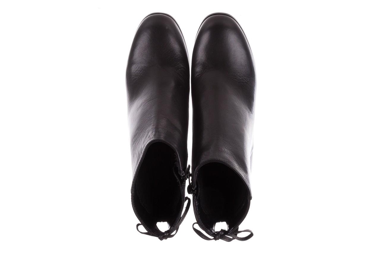 Botki bayla-056 9086-08 czarne, skóra naturalna - skórzane - botki - buty damskie - kobieta 12