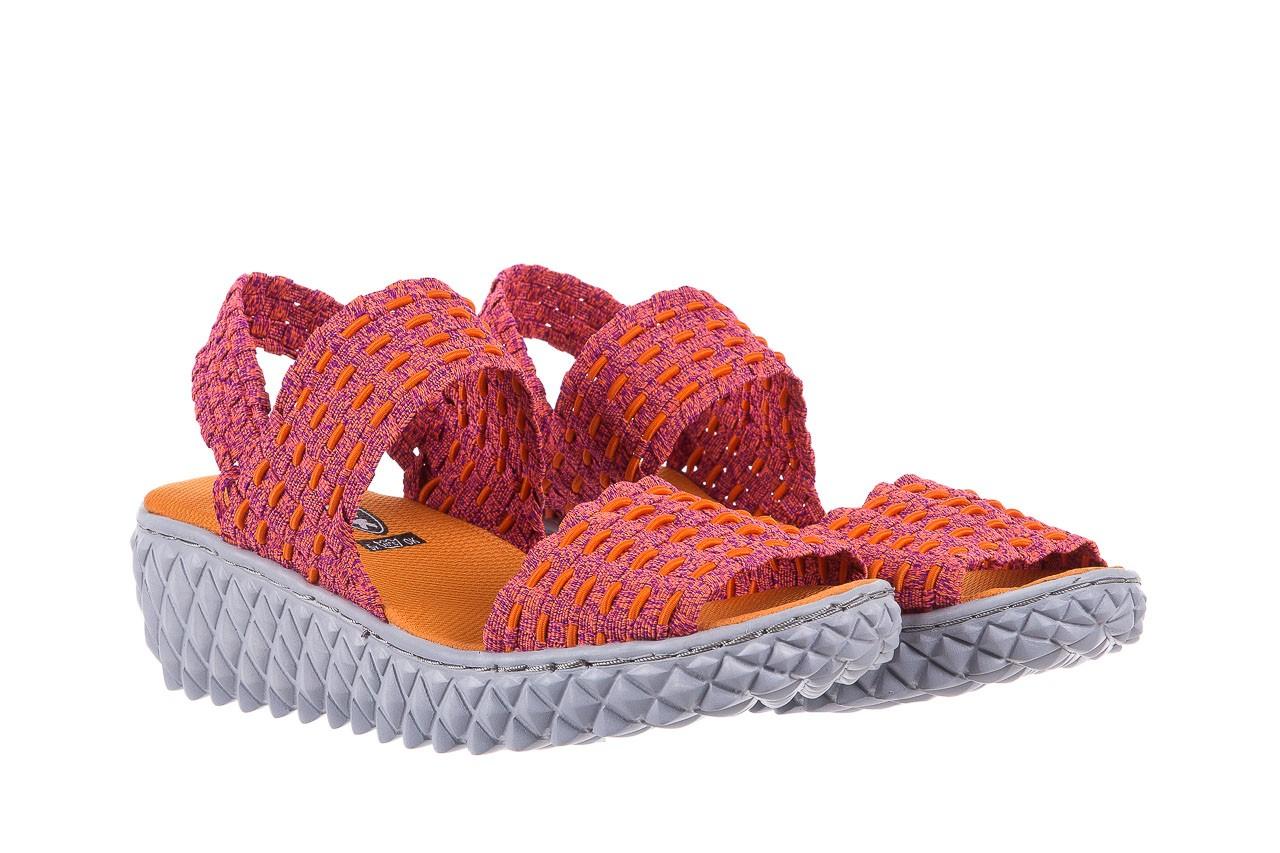 Sandały rock roxana andromeda, róż, materiał  - rock - nasze marki 7