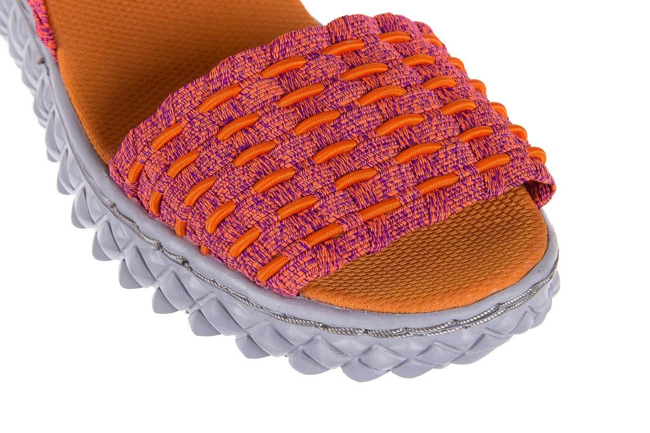 Sandały rock roxana andromeda, róż, materiał  - rock - nasze marki 10