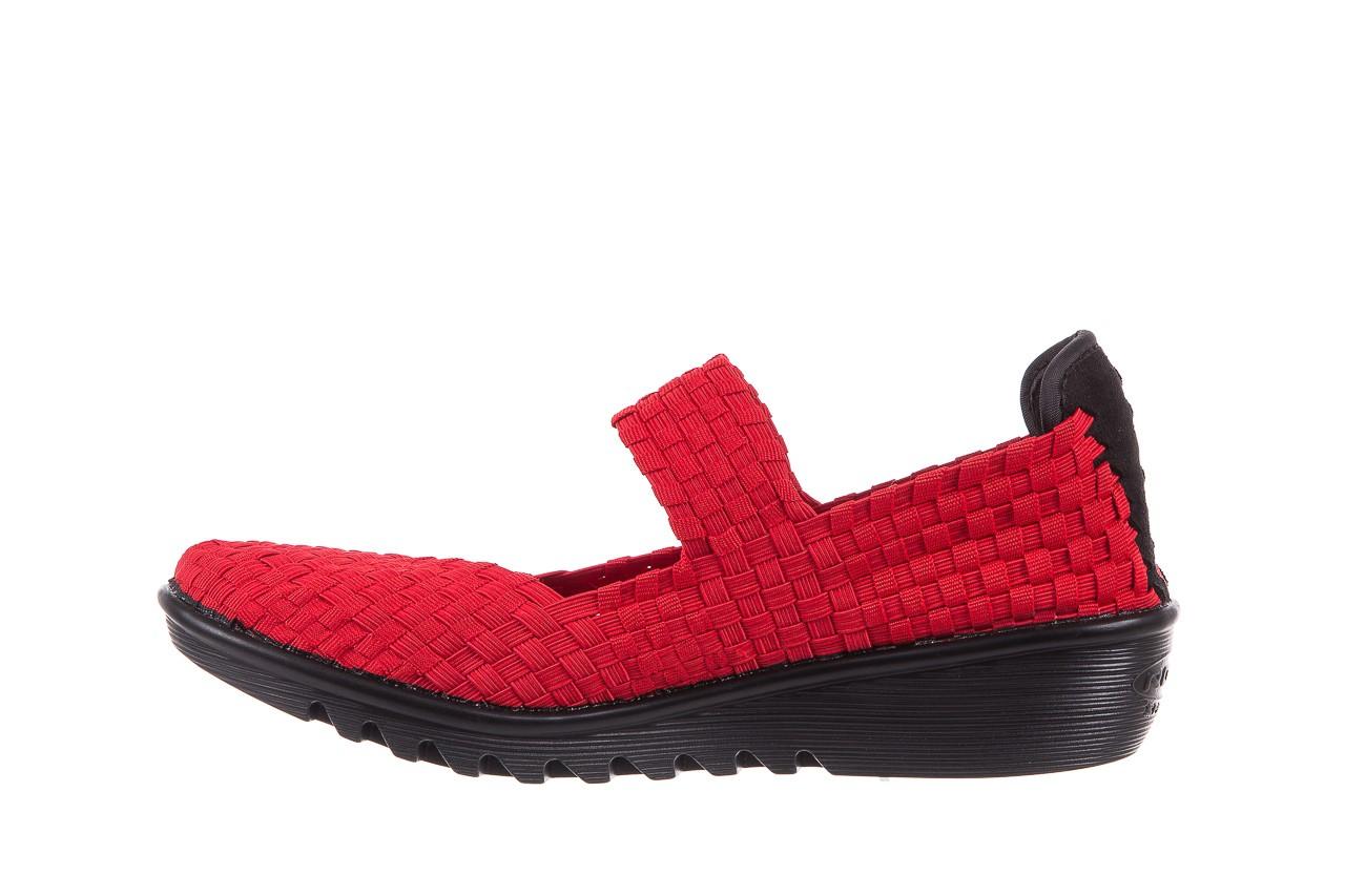 Półbuty rock brixton red, czerwony, materiał  - rock - nasze marki 8