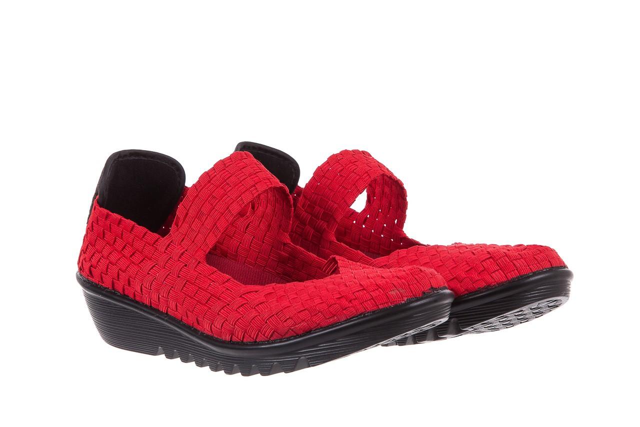 Półbuty rock brixton red, czerwony, materiał  - rock - nasze marki 7