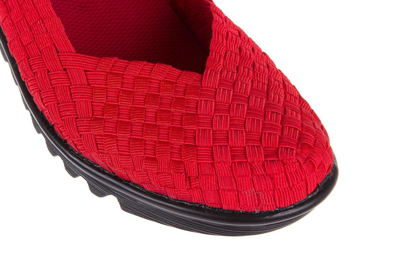 Półbuty rock brixton red, czerwony, materiał  - rock - nasze marki 11