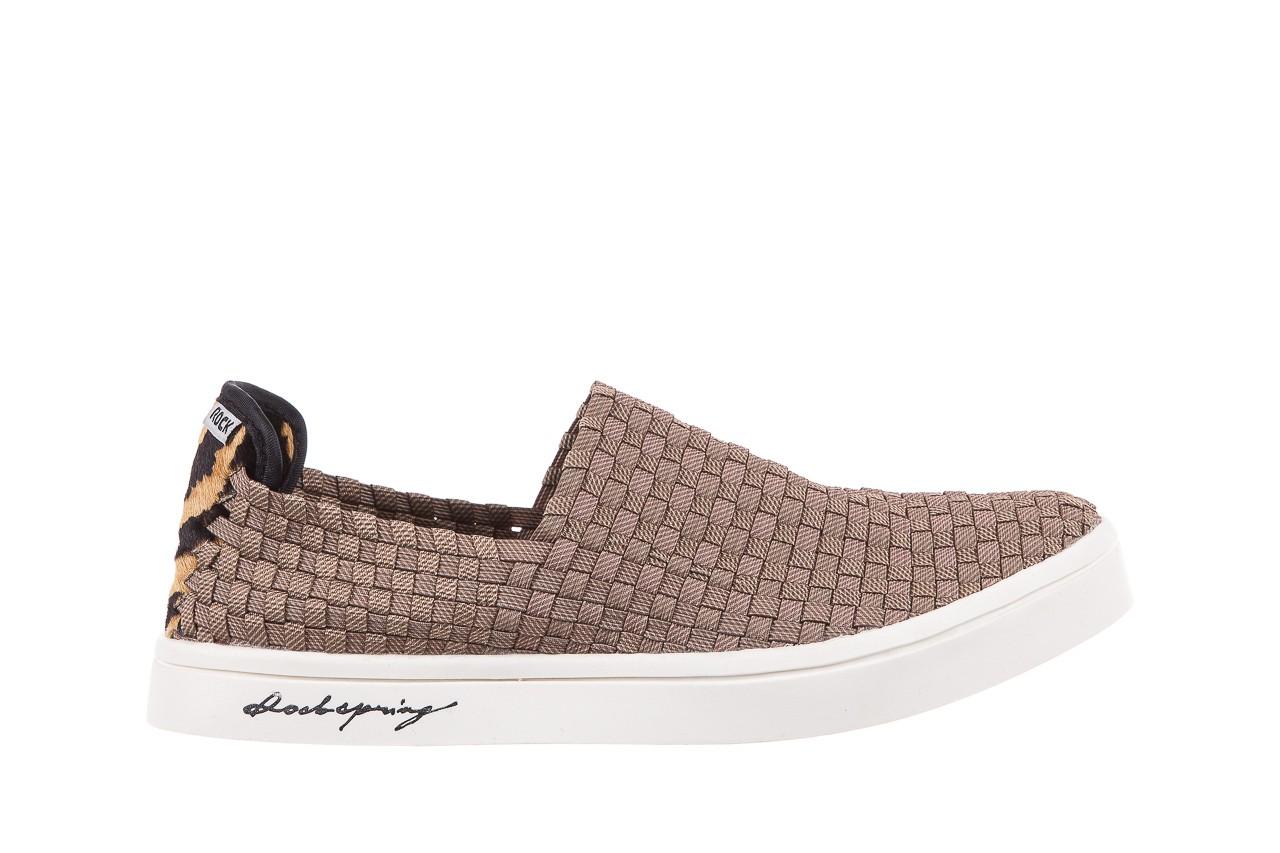 Trampki rock cruiser s ratan, brąz, materiał  - obuwie sportowe - dla niej - dodatkowe -10% 6