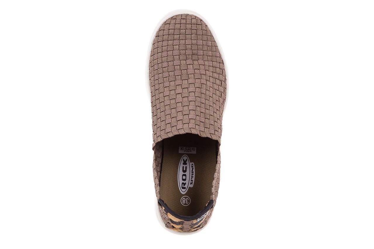 Trampki rock cruiser s ratan, brąz, materiał  - obuwie sportowe - dla niej - dodatkowe -10% 10