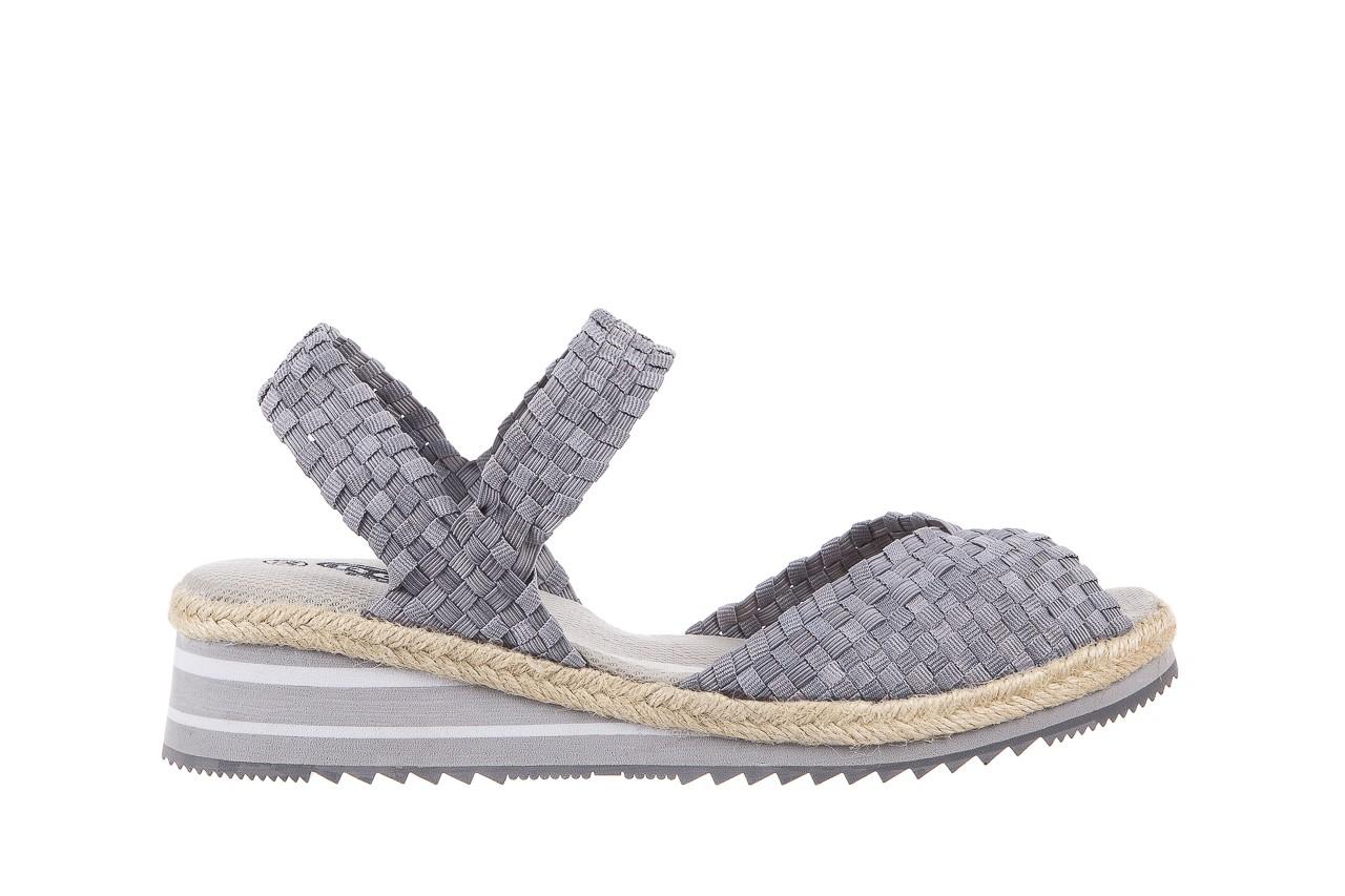 Sandały rock maracuja grey, szary, materiał - rock - nasze marki 6