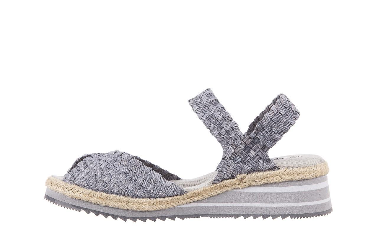 Sandały rock maracuja grey, szary, materiał - rock - nasze marki 8