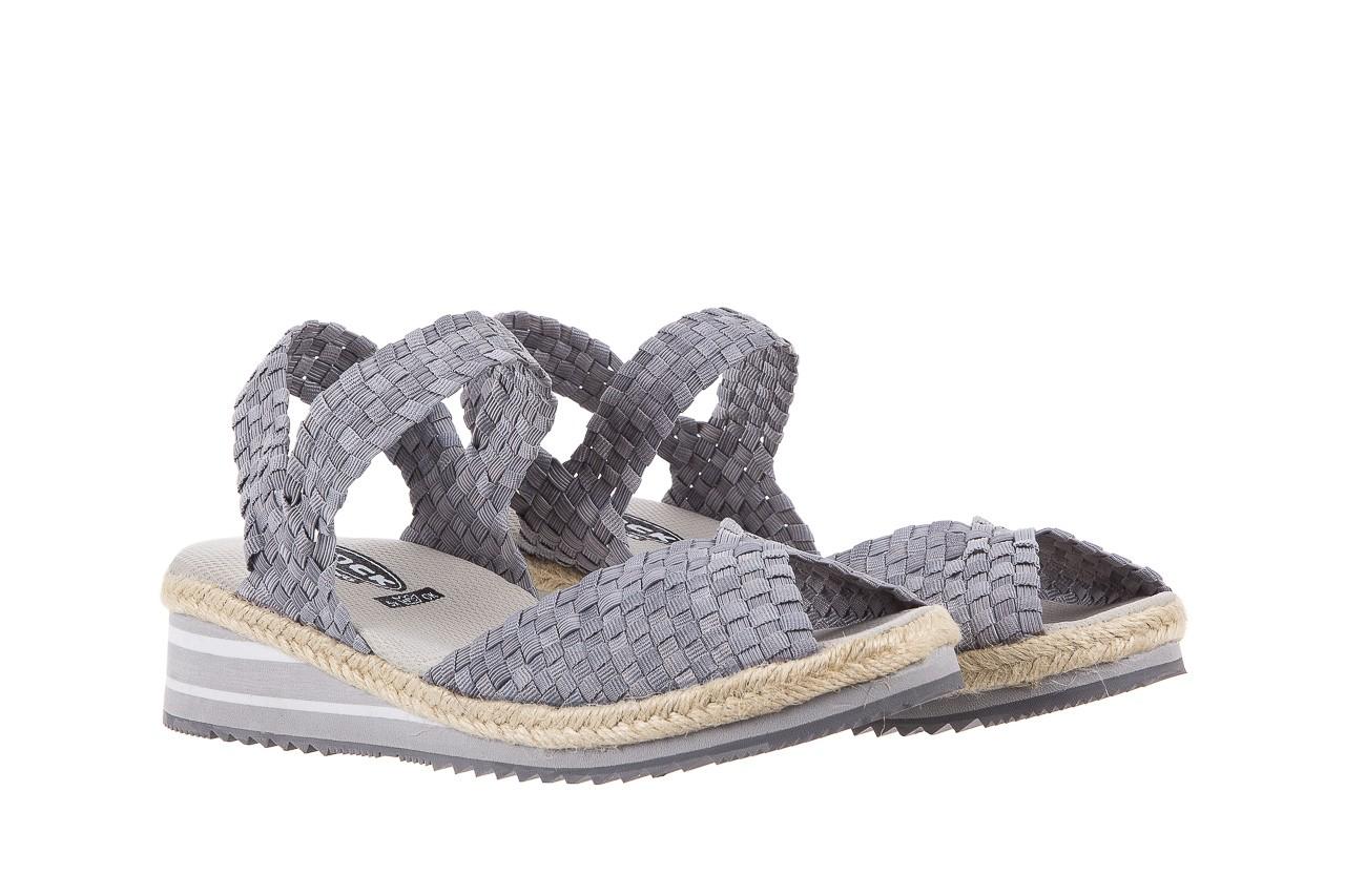 Sandały rock maracuja grey, szary, materiał - rock - nasze marki 7