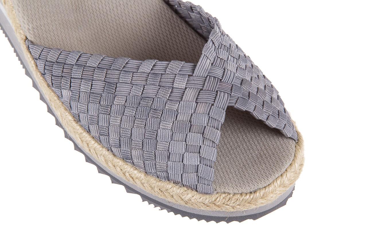 Sandały rock maracuja grey, szary, materiał - rock - nasze marki 10