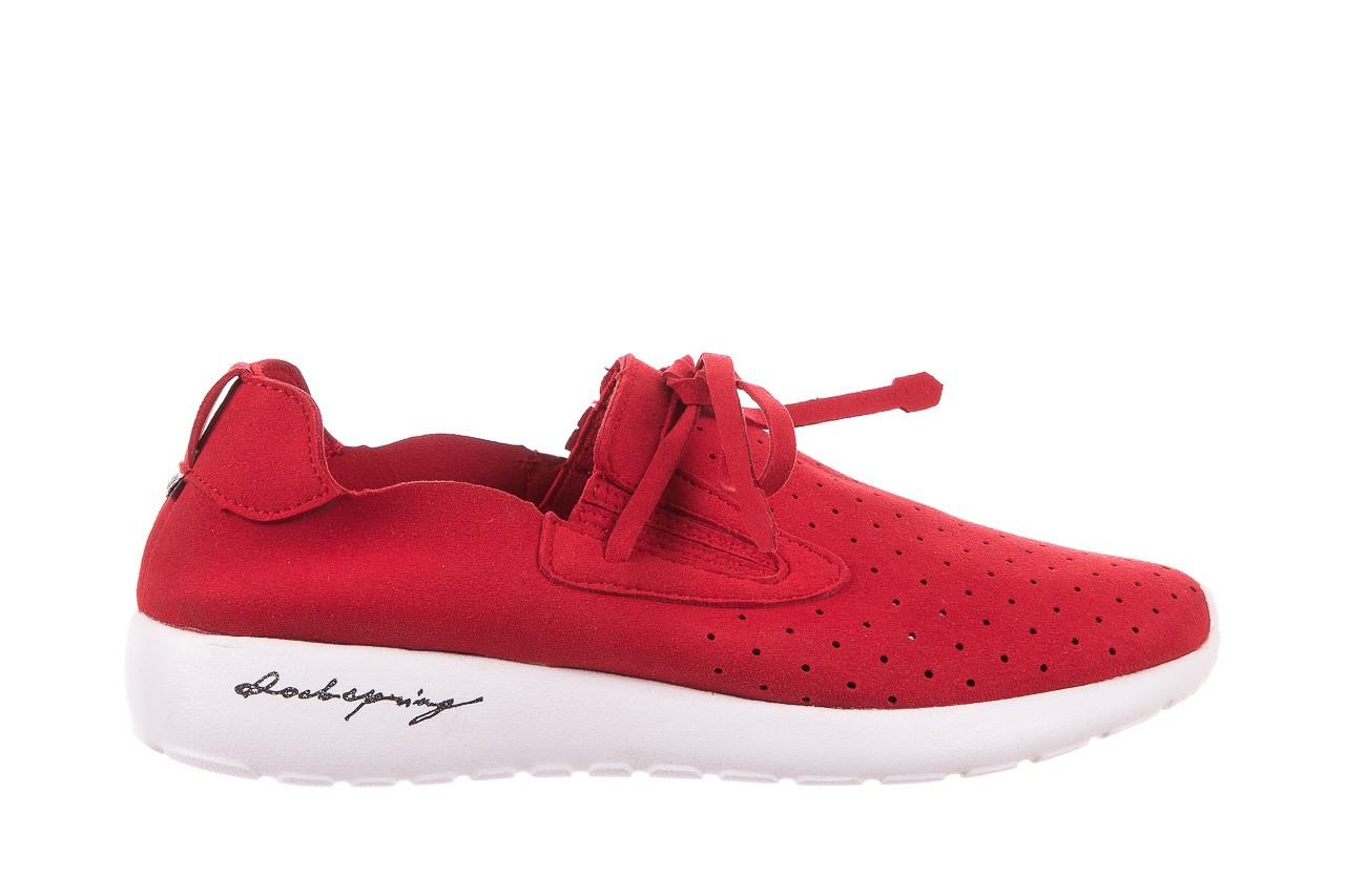 Półbuty rock mistrale red, czerwony, materiał  - obuwie sportowe - buty damskie - kobieta 6