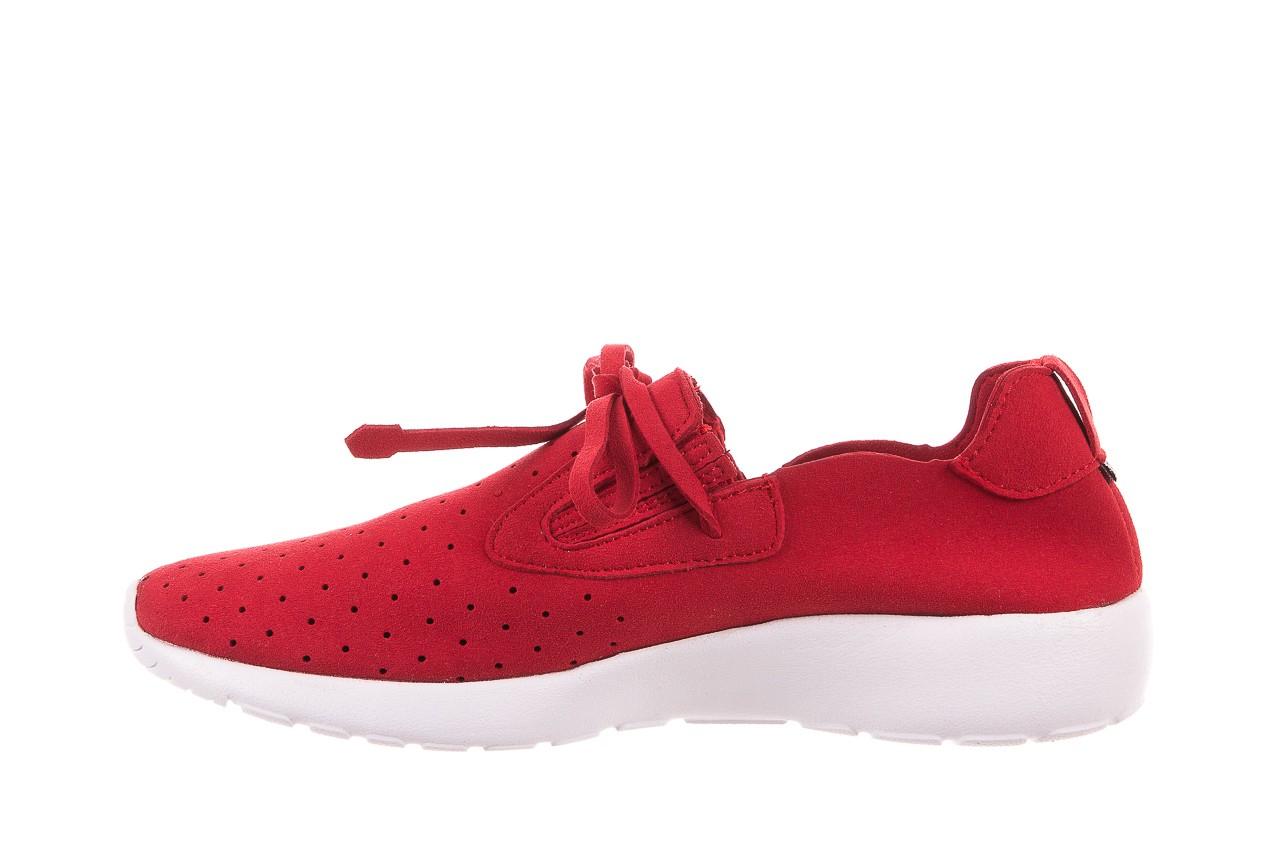 Półbuty rock mistrale red, czerwony, materiał  - obuwie sportowe - buty damskie - kobieta 8