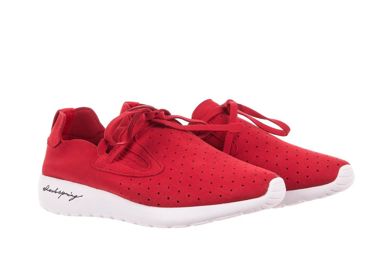 Półbuty rock mistrale red, czerwony, materiał  - obuwie sportowe - buty damskie - kobieta 7