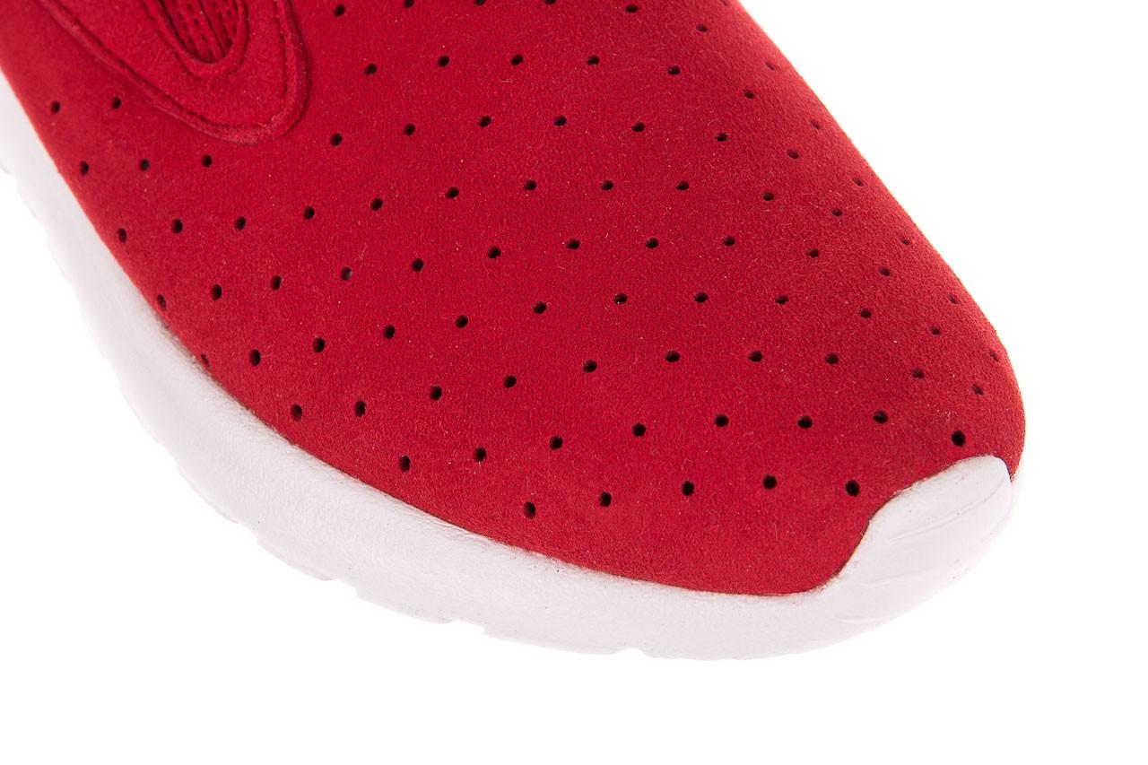 Półbuty rock mistrale red, czerwony, materiał  - obuwie sportowe - buty damskie - kobieta 10
