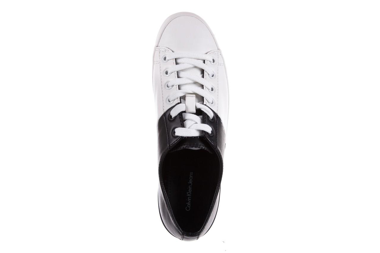 Calvin klein jeans wanda matte smooth black-white 3 - calvin klein jeans - nasze marki 11