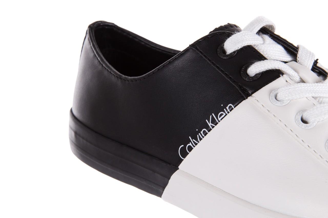 Calvin klein jeans wanda matte smooth black-white 3 - calvin klein jeans - nasze marki 12