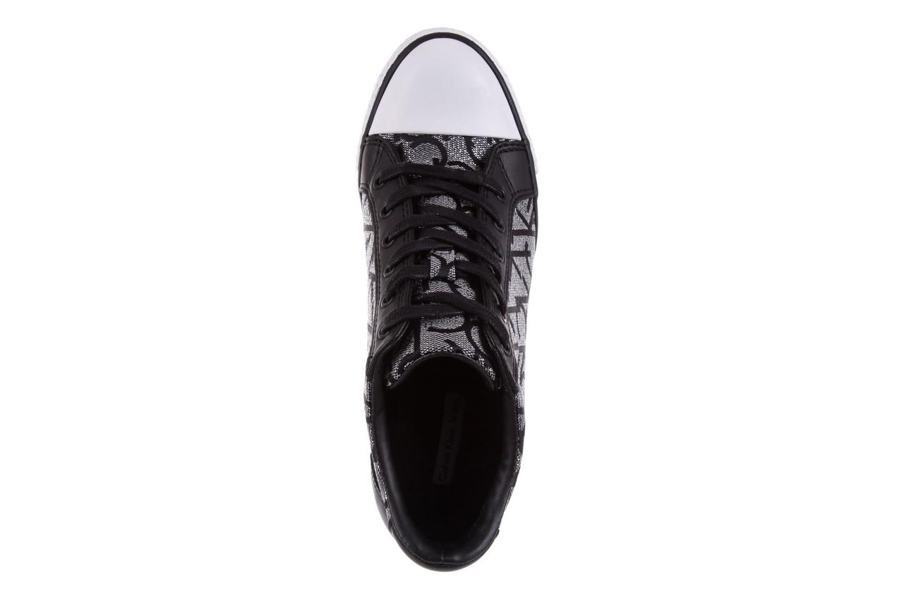 Calvin klein jeans vero jacquard silver-black - calvin klein jeans - nasze marki 11