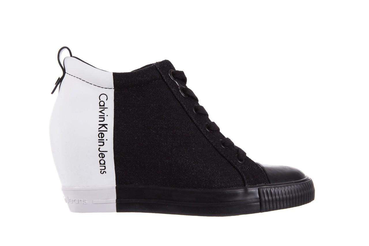 Calvin klein jeans rizzo denim black-off white - calvin klein jeans - nasze marki 7