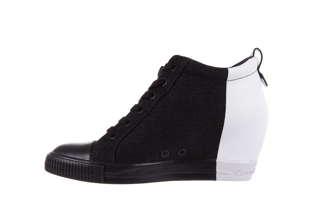Calvin klein jeans rizzo denim black-off white - calvin klein jeans - nasze marki 9