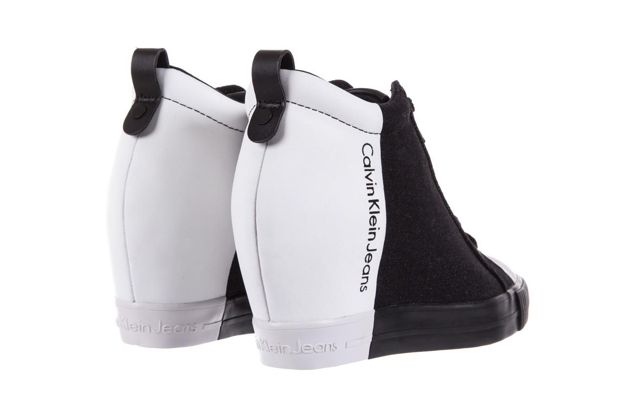 Calvin klein jeans rizzo denim black-off white - calvin klein jeans - nasze marki 10