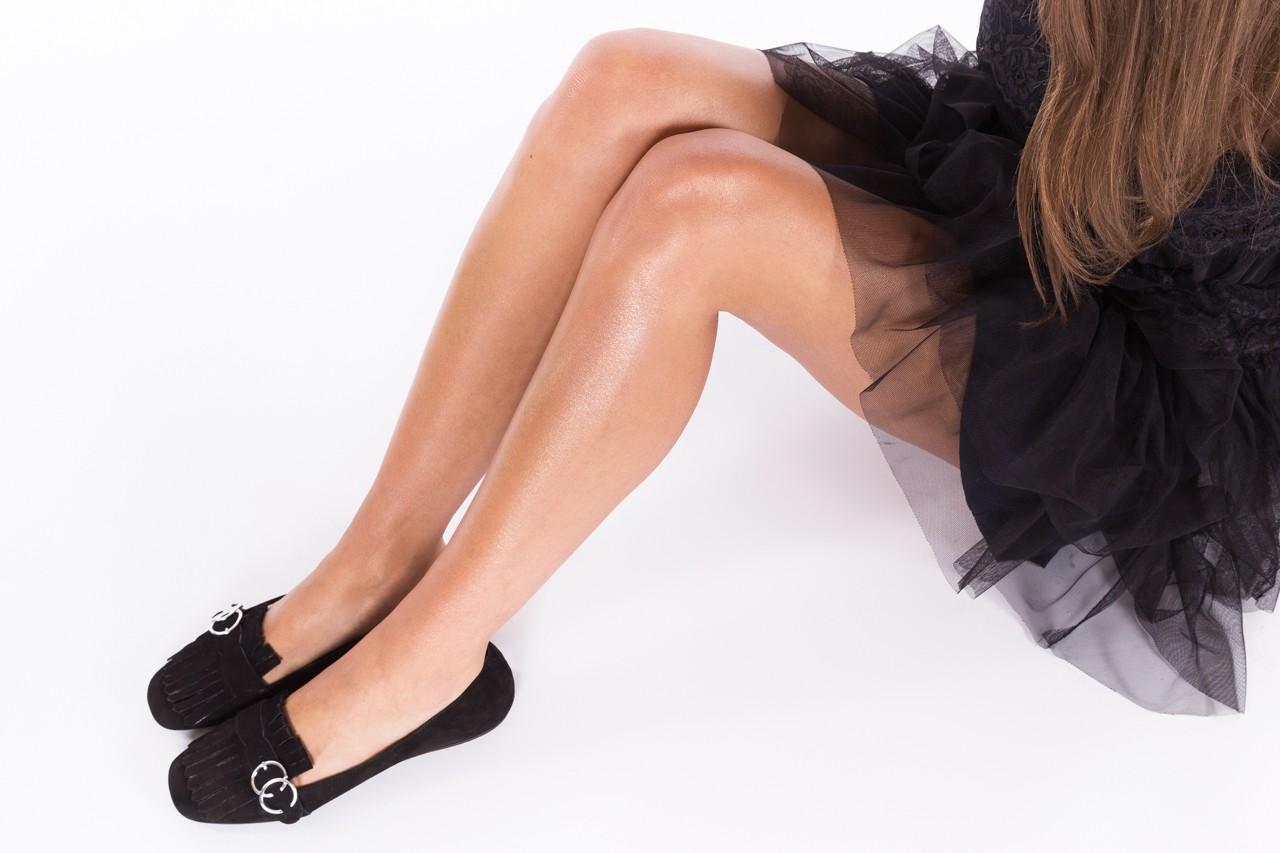 Lordsy bayla-174 mi3702 czarny, skóra naturalna  - mokasyny i lordsy - półbuty - buty damskie - kobieta 9