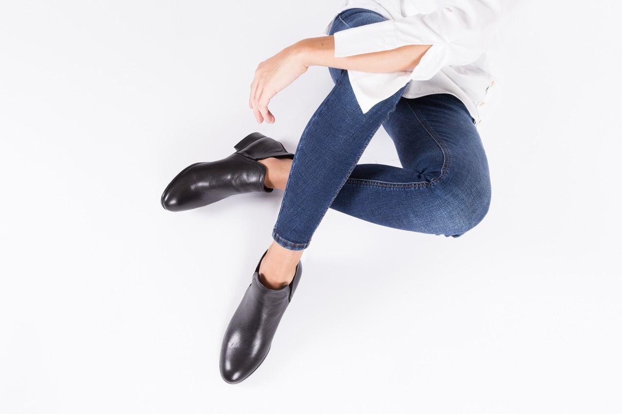 Botki bayla-076 1592 czarny, skóra naturalna  - sztyblety - botki - buty damskie - kobieta 9