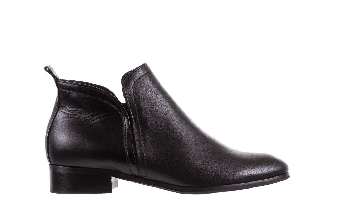 Botki bayla-076 1592 czarny, skóra naturalna  - sztyblety - botki - buty damskie - kobieta 7