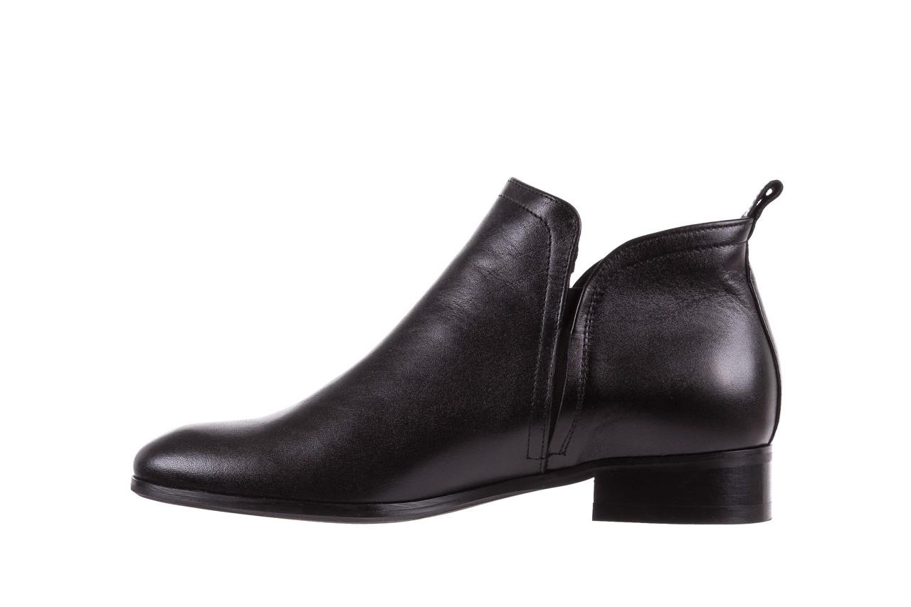 Botki bayla-076 1592 czarny, skóra naturalna  - sztyblety - botki - buty damskie - kobieta 10