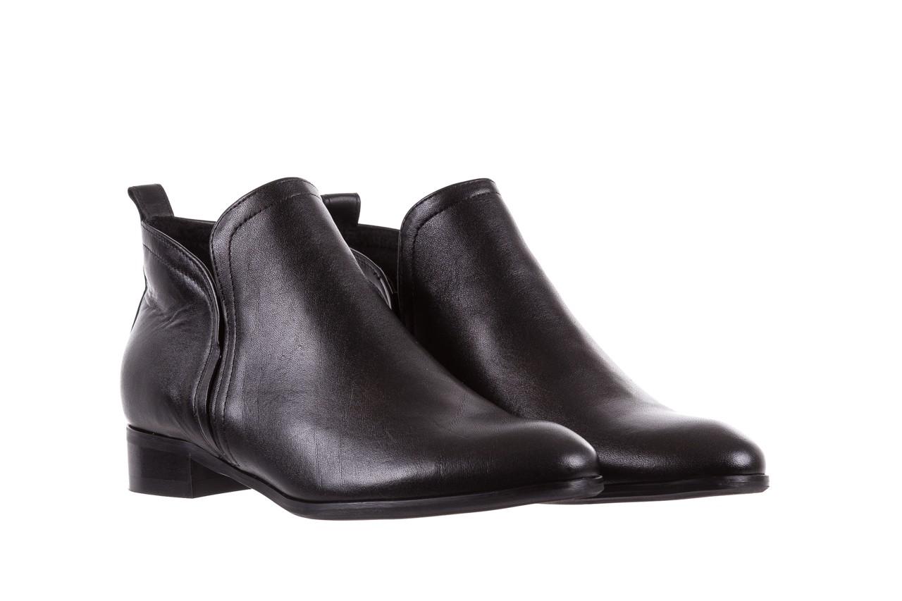 Botki bayla-076 1592 czarny, skóra naturalna  - sztyblety - botki - buty damskie - kobieta 8