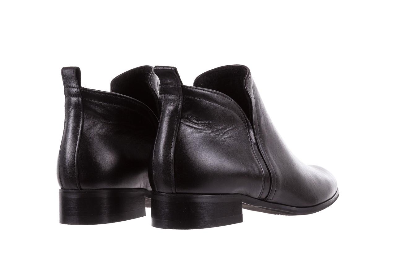 Botki bayla-076 1592 czarny, skóra naturalna  - sztyblety - botki - buty damskie - kobieta 11