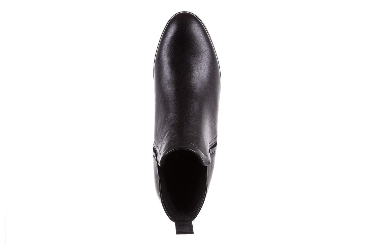 Botki bayla-076 1592 czarny, skóra naturalna  - sztyblety - botki - buty damskie - kobieta 12