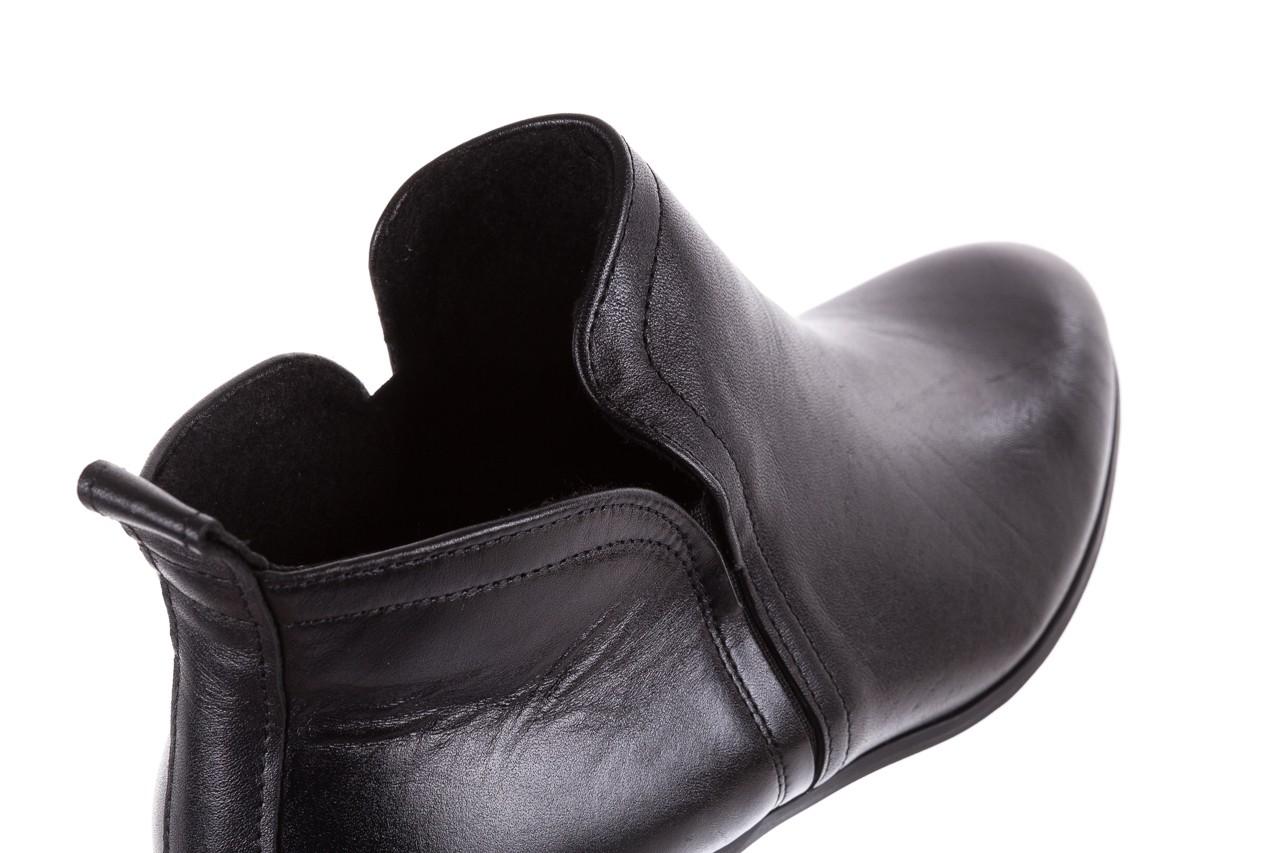Botki bayla-076 1592 czarny, skóra naturalna  - sztyblety - botki - buty damskie - kobieta 13