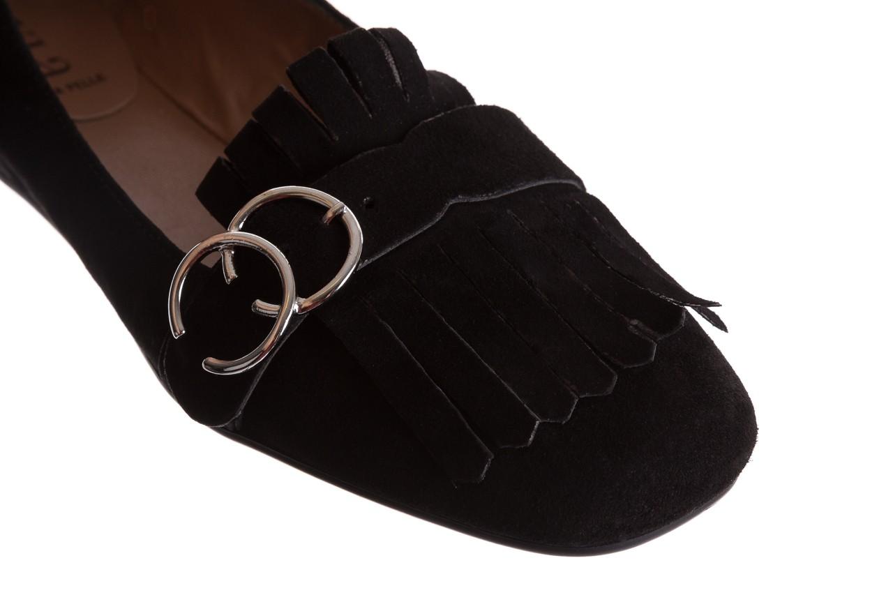 Lordsy bayla-174 mi3702 czarny, skóra naturalna  - mokasyny i lordsy - półbuty - buty damskie - kobieta 13