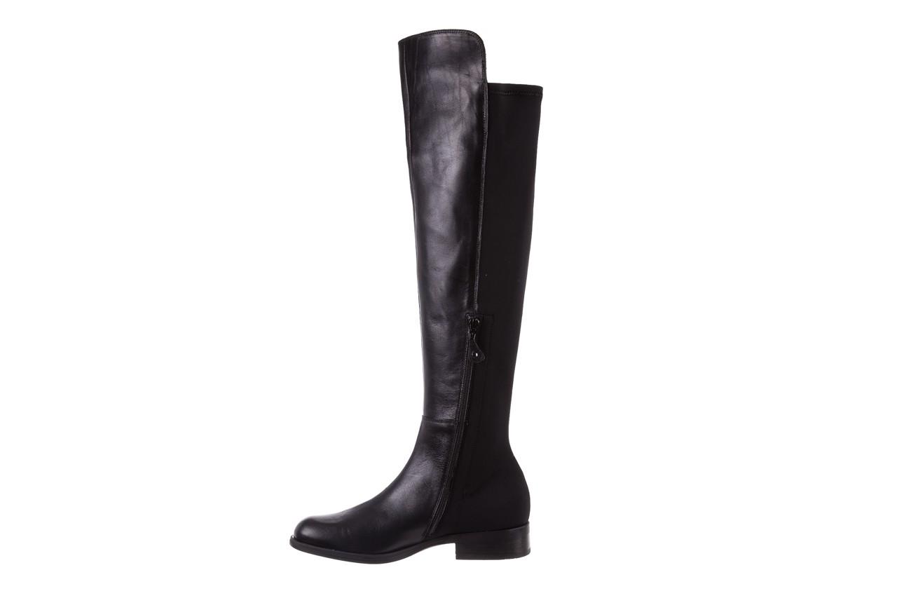 Kozaki bayla-174 mh0490 czarne lico, skóra naturalna - płaskie - kozaki - buty damskie - kobieta 13