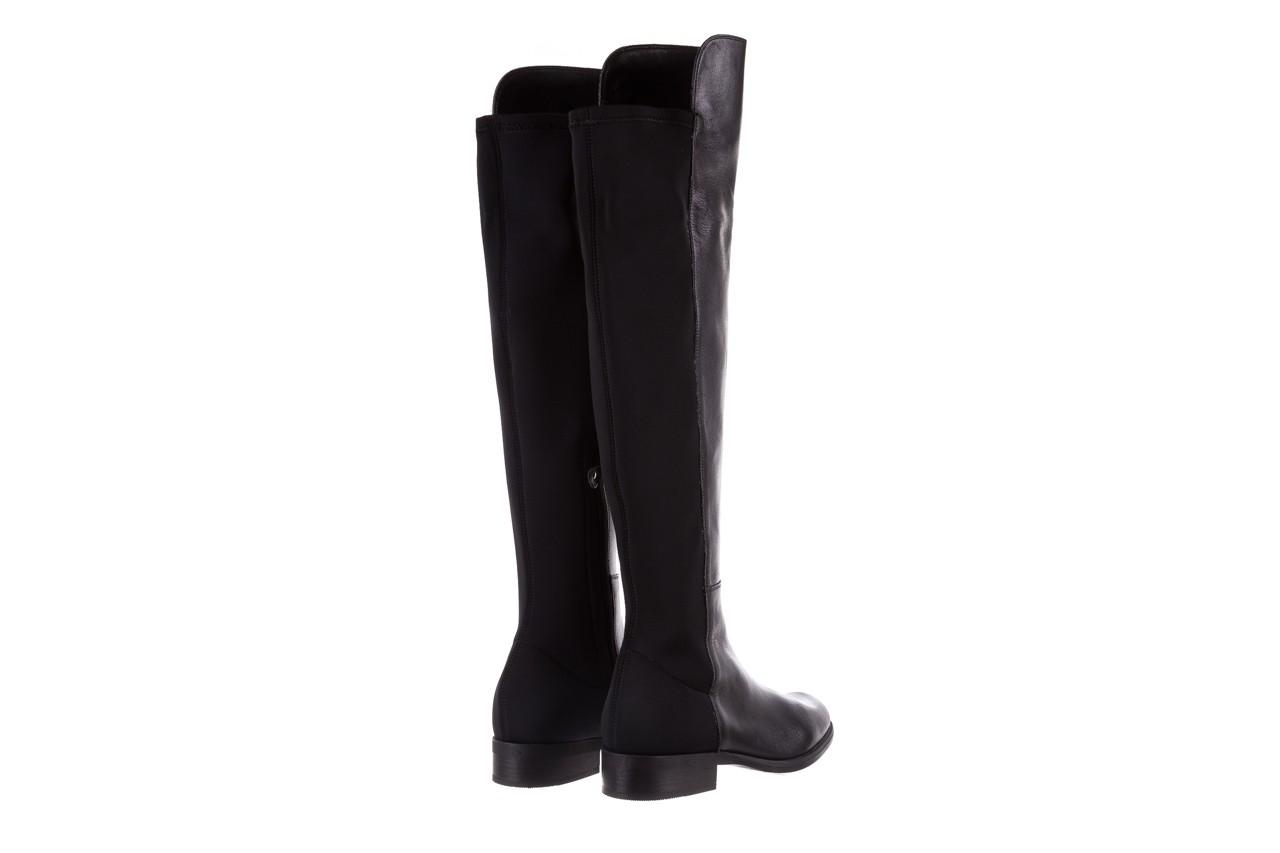 Kozaki bayla-174 mh0490 czarne lico, skóra naturalna - płaskie - kozaki - buty damskie - kobieta 14