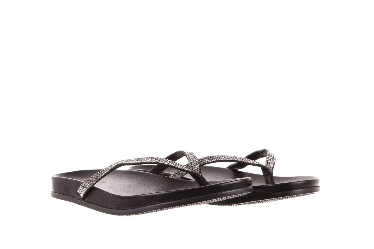 Klapki bayla-163 17-189 black, czarny, skóra naturalna 7