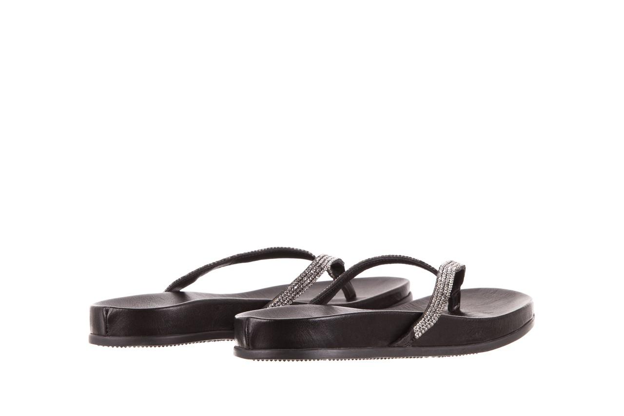 Klapki bayla-163 17-189 black, czarny, skóra naturalna 9