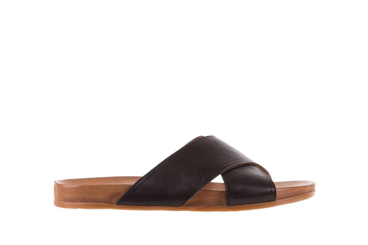 Klapki bayla-163 17-183 black, czarny, skóra naturalna  - klapki - letnie hity cenowe 6