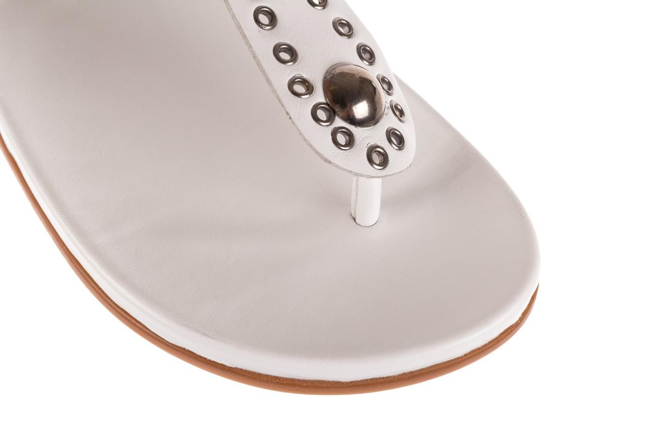 Sandały bayla-163 17-178 riga, biały, skóra naturalna  - japonki - sandały - buty damskie - kobieta 13