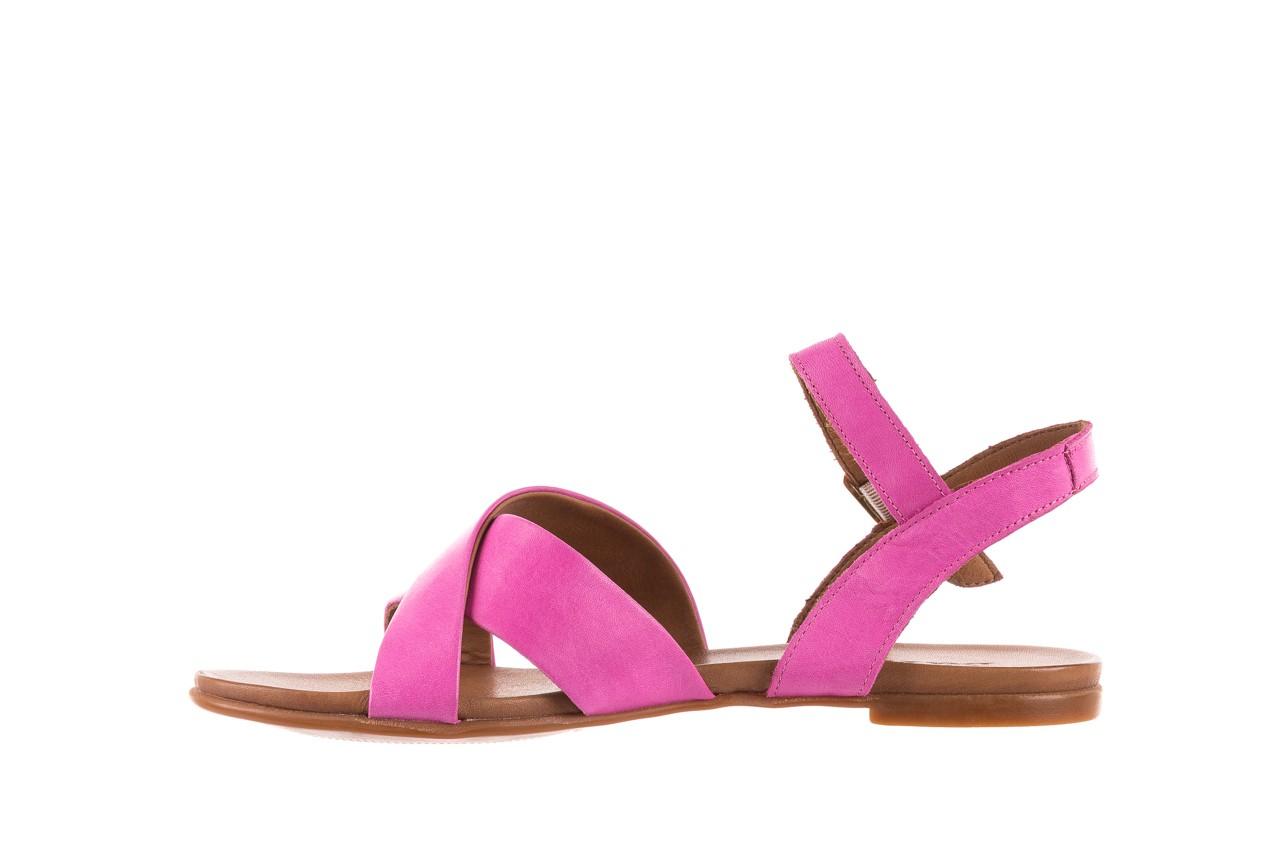 Sandały bayla-163 17-116 bead, róż, skóra naturalna  - bayla - nasze marki 8