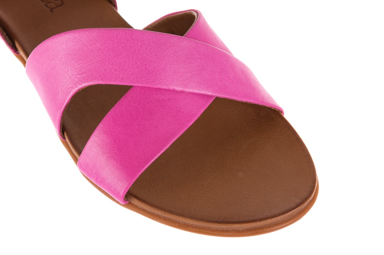 Sandały bayla-163 17-116 bead, róż, skóra naturalna  - bayla - nasze marki 11