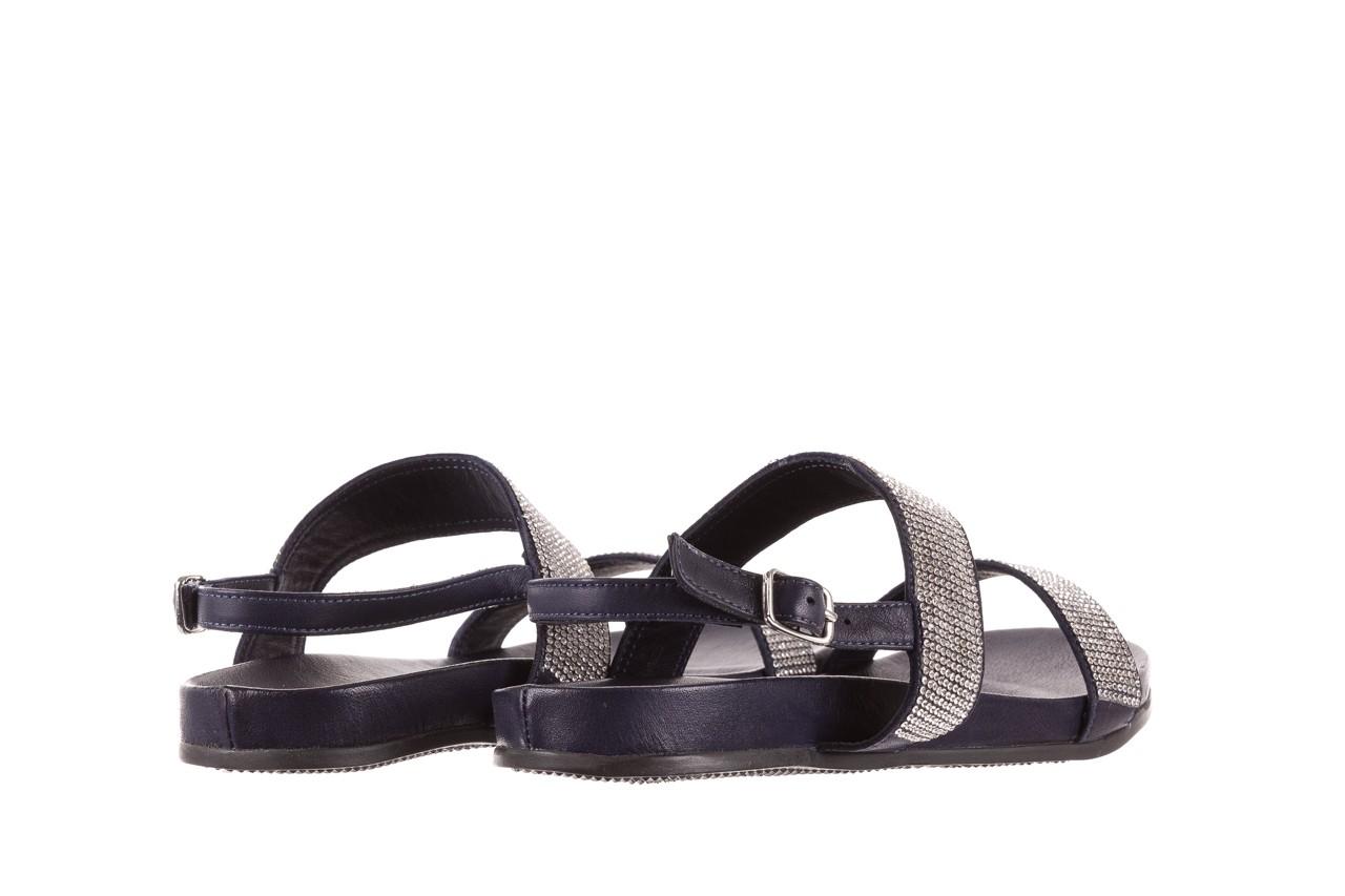 Sandały bayla-163 17-302 dark ocean, czarny, skóra naturalna  - sandały - letnie hity cenowe 9