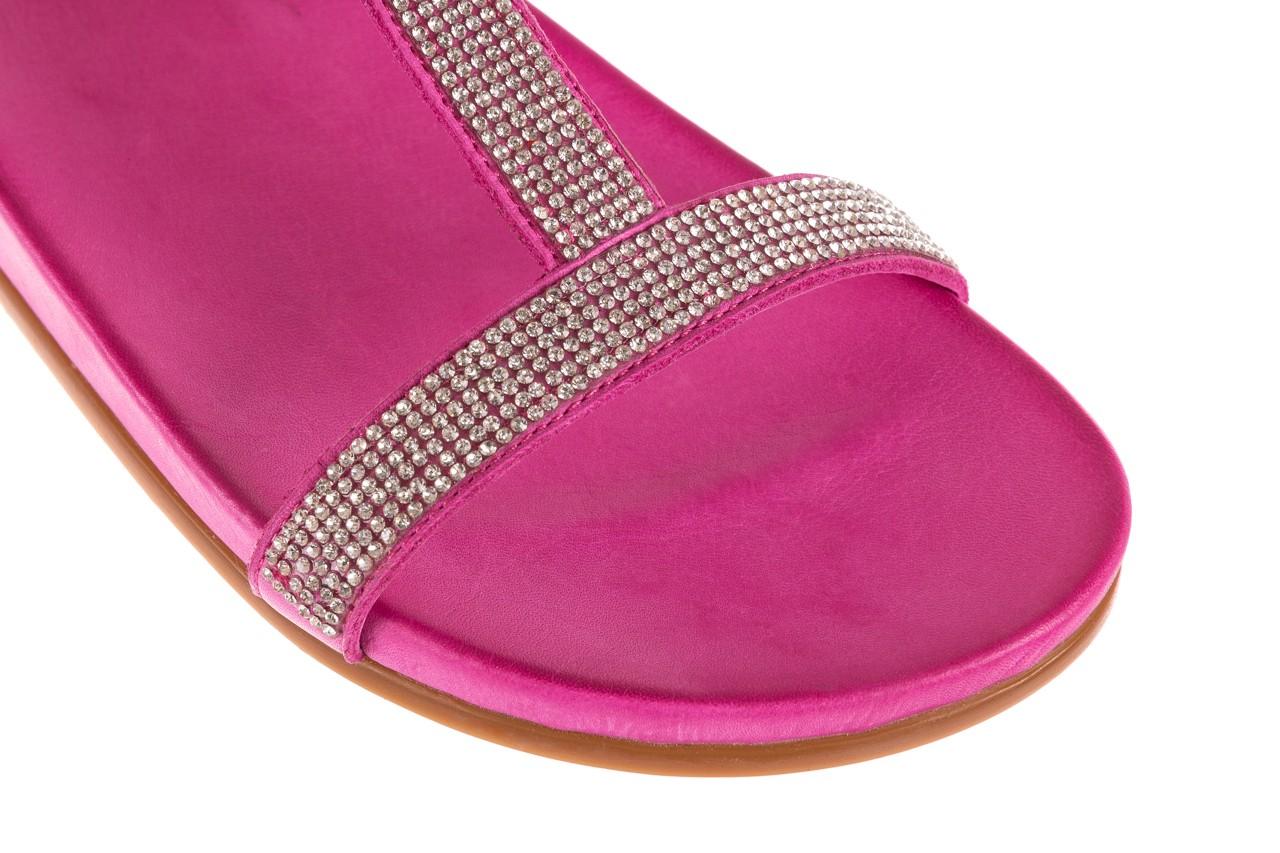 Sandały bayla-163 17-301 bead, róż, skóra naturalna 11
