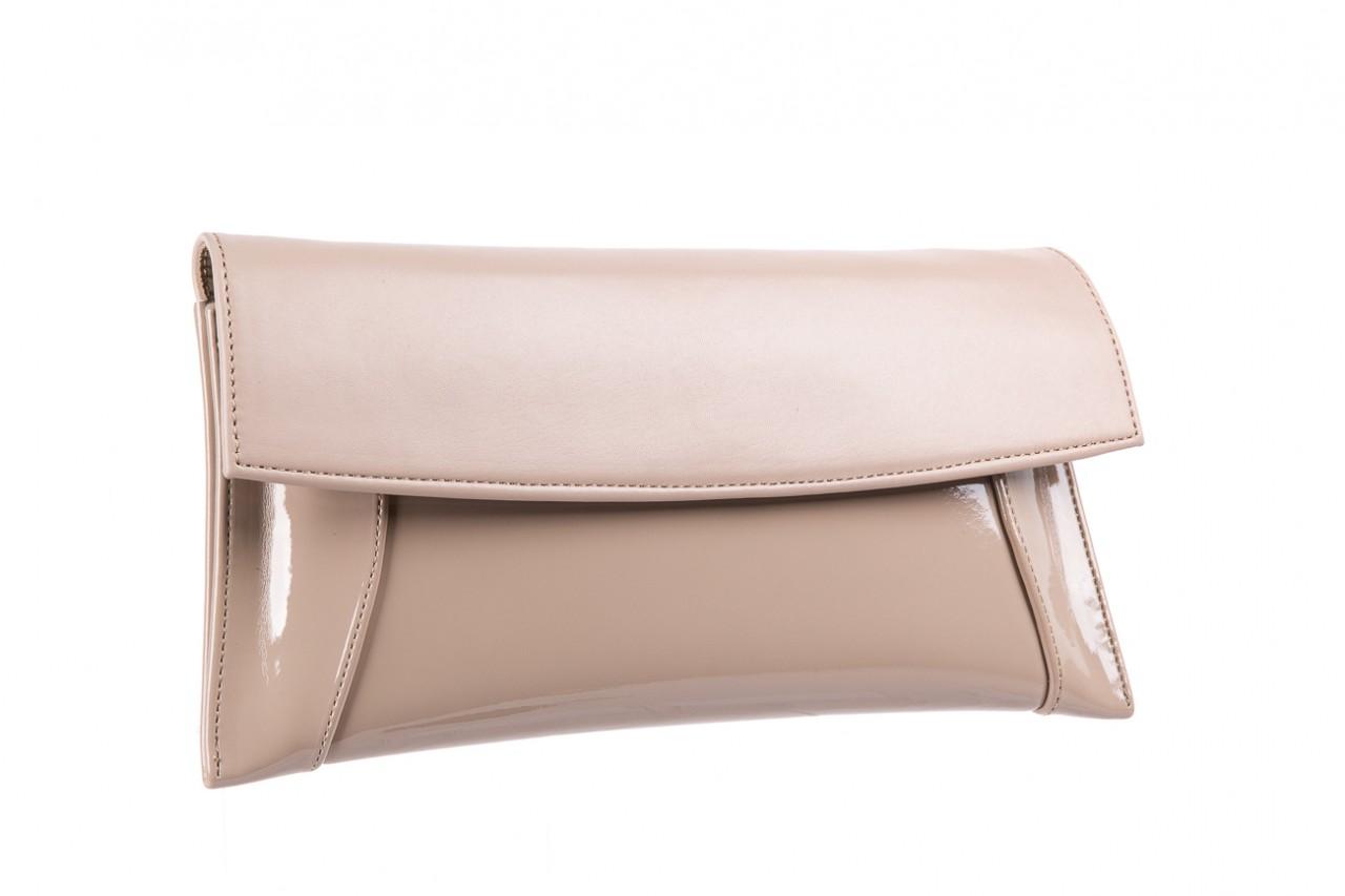 Bayla-097 torebka koperta sandra beż-lakier beż - bayla - nasze marki 6