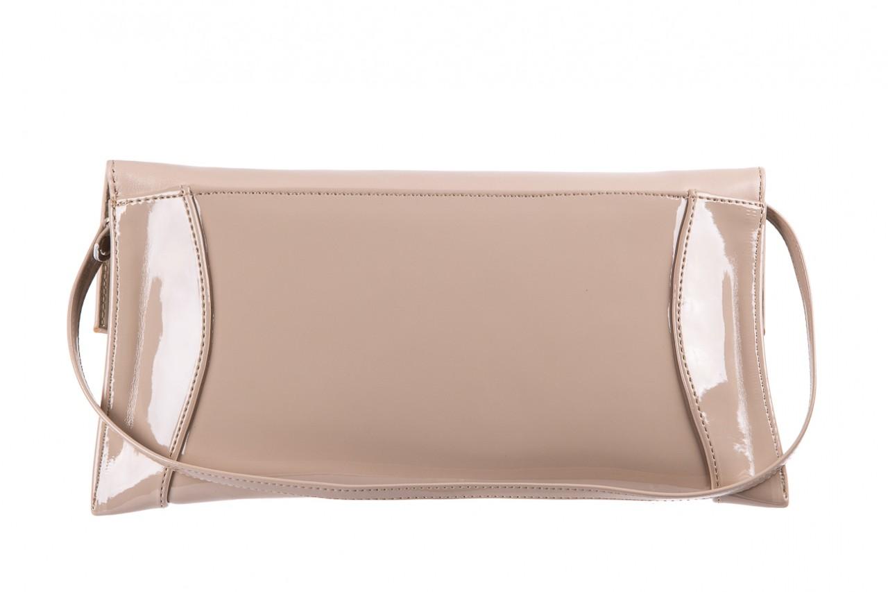 Bayla-097 torebka koperta sandra beż-lakier beż - bayla - nasze marki 5